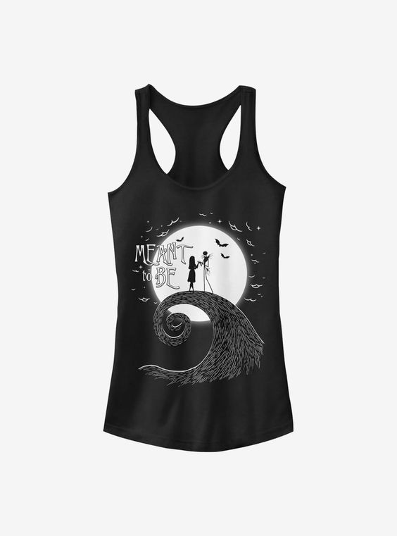 The Nightmare Before Christmas Meant To Be Girls Tank Top FA8MA1