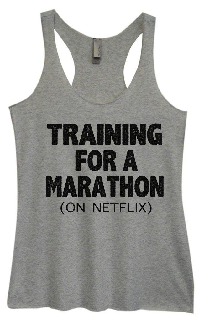 Training For A Marathon Tanktop AL10MA1