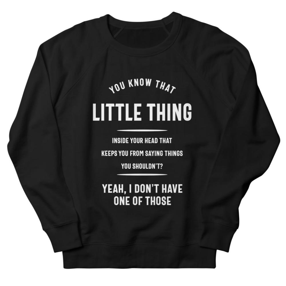 You Know The Little Sweatshirt AL25MA1