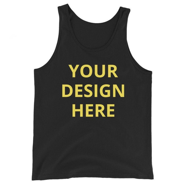 Your Design Here Tank Top DK26MA1