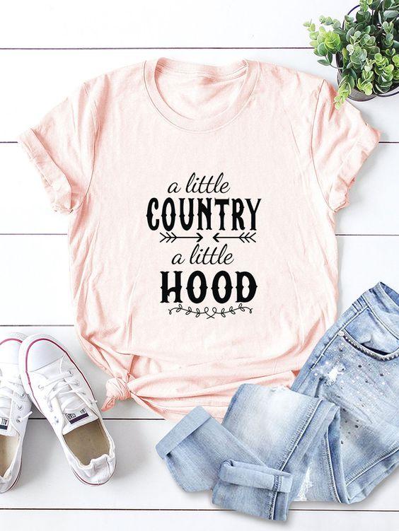 A Little Country T-Shirt EL23A1