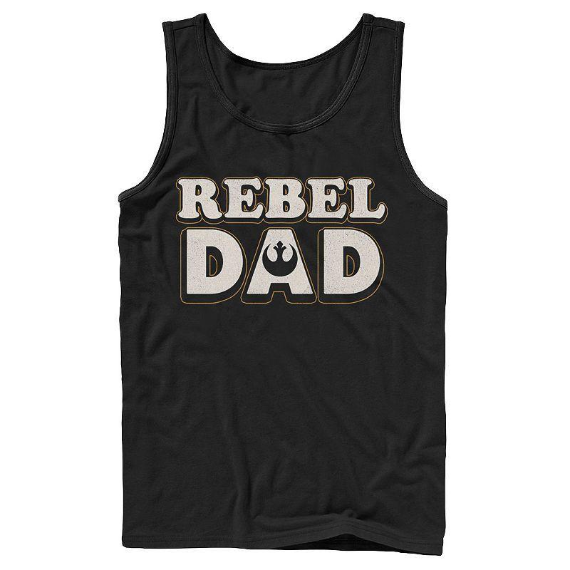 Day Rebel Dad Tanktop AL3A1