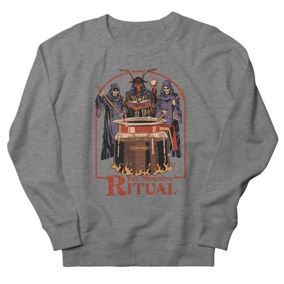 The Morning Ritual Sweatshirt PU24A1