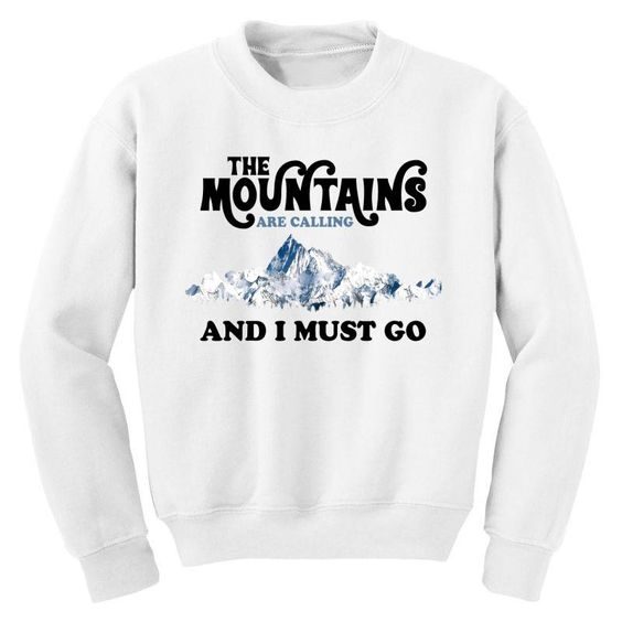 The Mountains Sweatshirt EL15A1