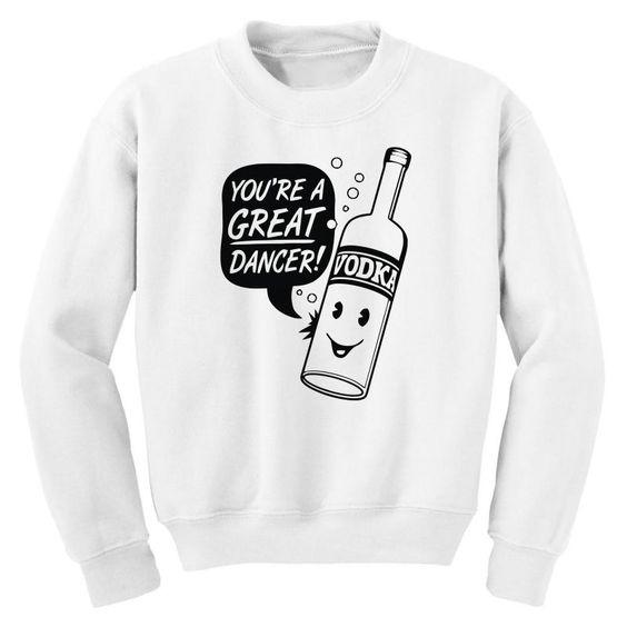 Vodka Dancer Sweatshirt EL15A1