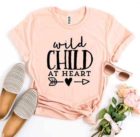 Wild Child At Heart T-Shirt EL15A1
