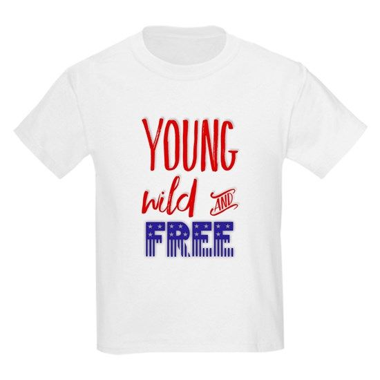 Young Wild and Free T-shirt SD14A1