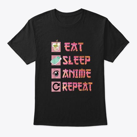 Anime Repeat T-Shirt SR8M1