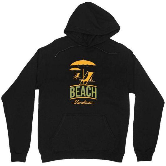 Beach vacation Hoodie EL11M1