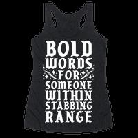 Bold Words Tanktop AL6M1