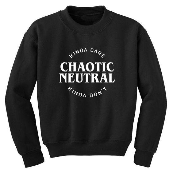Chaotic Neutral Sweatshirt EL11M1